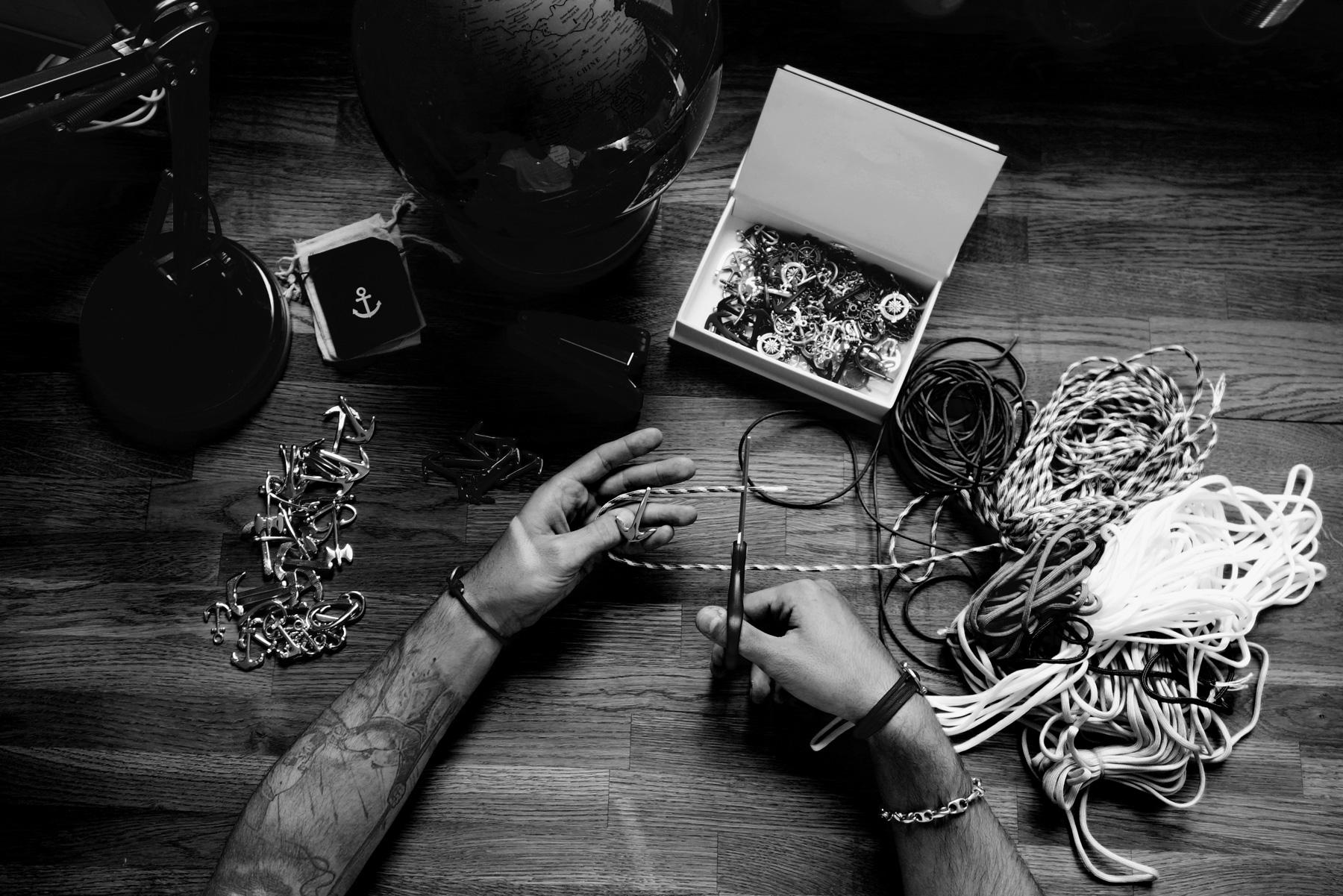 Fabrication Bracelet personnalisé Vic & Valere